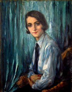 Ölgemälde Junge Frau, 1932