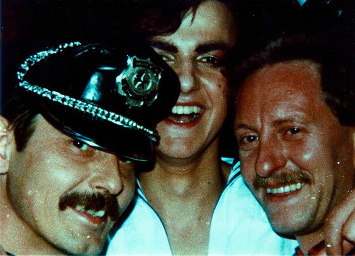 Faschingsfeier in einer Ludwigshafener Schwulen-Kneipe, 1970er